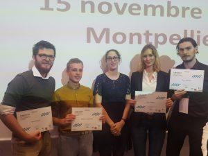 Photo des lauréats Grand Est de la remise des prix Pépite Tremplin 2018