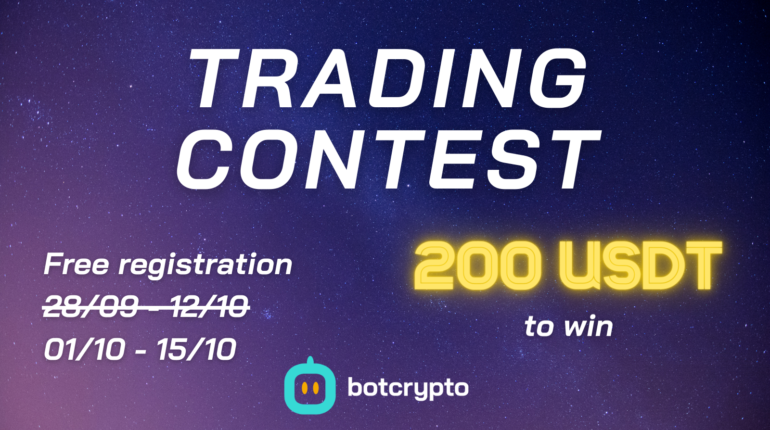 Presentation of Trading Contest #1 by Botcrypto