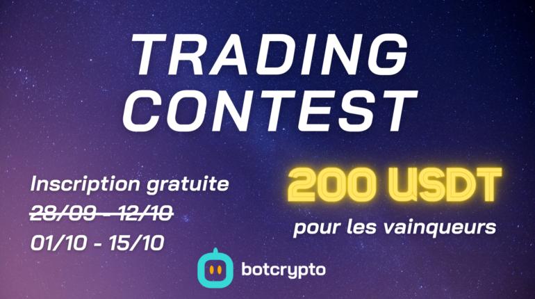 Présentation du Trading Contest #1 par Botcrypto